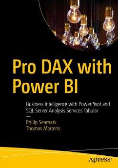 Pro DAX with Power BI (eBook, PDF) - Seamark, Philip; Martens, Thomas
