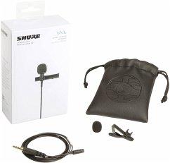 Shure MVL/A Ansteckmikrofon für Smartphone u. Tablet