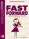 Fast Forward, Violin, m. Audio-CD