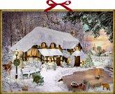 Wandkalender - Winterliches Cottage