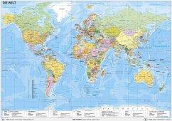 Weltkarte politisch - Stiefel, Heinrich