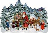 A3-Wandkalender - Schlitten im Winterwald