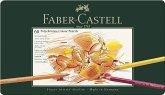Faber-Castell Künstlerfarbstifte Polychromos, 60er Set Metalletui