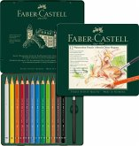 Faber-Castell Aquarellstifte Albrecht Dürer Magnus, 12er Set Metalletui