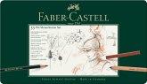 Faber-Castell Pitt Monochrome, 33er Set Metalletui