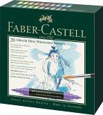 Faber-Castell Aquarellmarker Albrecht Dürer, 20er Set