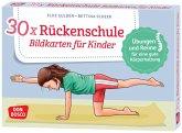 30 x Rückenschule. Bildkarten für Kinder