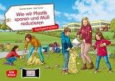 Wie wir Plastik sparen und Müll reduzieren. Kamishibai Bildkartenset