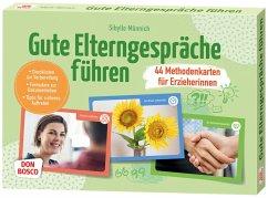 Gute Elterngespräche führen - 44 Methodenkarten für Erzieherinnen - Münnich, Sibylle