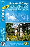 Topographische Karte Bayern Naturpark Haßberge