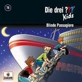 Die drei ??? Kids - Blinde Passagiere, 1 Audio-CD
