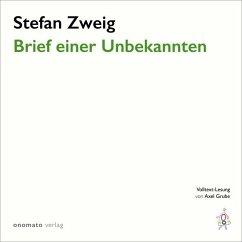 Brief einer Unbekannten, 1 MP3-CD - Zweig, Stefan