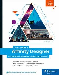 Affinity Designer (eBook, PDF) - Goldbach, Anke