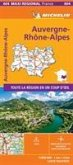 AUVERGNE-RHONE-ALPES, France - Michelin Maxi Regional Map 604