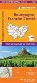BOURGOGNE-FRANCHE-COMTE, France - Michelin Maxi Regional Map 602