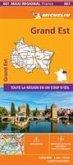 GRAND-EST, France - Michelin Maxi Regional Map 601