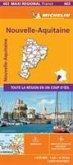 Aquitaine, Limousin and Poitou-Charentes , France - Michelin Maxi Regional Map 603