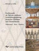 Emblematik als Teil der profanen Innenraumgestaltung deutscher Schlösser und Herrenhäuser (eBook, PDF)