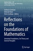 Reflections on the Foundations of Mathematics (eBook, PDF)