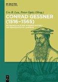 Conrad Gessner (1516-1565) (eBook, PDF)