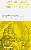 Das Marienleben des Kartäusers Philipp von Seitz (eBook, PDF)