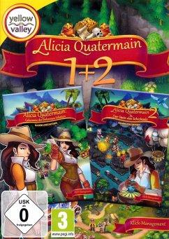 Yellow Valley: Alicia Quatermain 1+2 (Klick-Management-Spiel)
