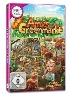 Purple Hills: Amy's Greenmarkt (Klick-Management-Spiel)