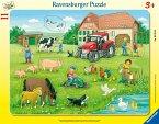 Sommertag auf dem Bauernhof (Kinderpuzzle)