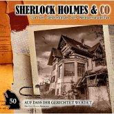 Sherlock Holmes & Co, Folge 50: Auf dass ihr gerichtet werdet (MP3-Download)