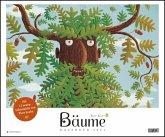 Bäume 2021 - DUMONT Kinder-Kalender - Querformat