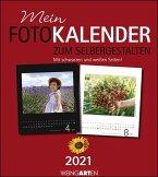 Fotokalender zum Selbergestalten 2021 24 x 21,5 cm