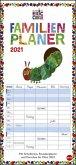 Die kleine Raupe Nimmersatt Familienplaner - Kalender 2021