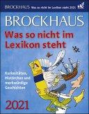 Brockhaus. Was so nicht im Lexikon steht 2021