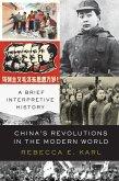 China's Revolutions in the Modern World (eBook, ePUB)