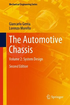 The Automotive Chassis (eBook, PDF) - Genta, Giancarlo; Morello, Lorenzo