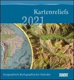 Geographisch-Kartographischer Kalender 2021 - Der Blickwinkel des Kartographen - Wand-Kalender mit historischen Landkarten - 45 x 48 cm