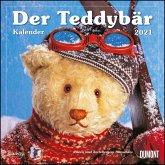 Der Teddybär 2021 - Broschürenkalender - Wandkalender