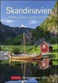 Skandinavien 2021 Wochenplaner