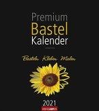 Premium Bastelkalender 2021 Schwarz 24 x 21,5 cm