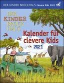 Der Kinder Brockhaus Kalender für clevere Kids - Kalender 2021
