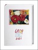 Lady Tagebuch A5 - Kalender 2021