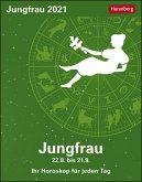 Sternzeichenkalender Jungfrau 2021