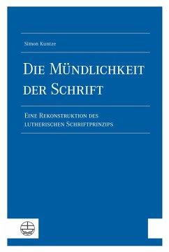 Die Mu¨ndlichkeit der Schrift (eBook, PDF) - Kuntze, Simon
