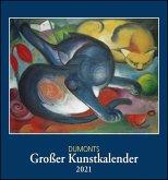 DuMonts Großer Kunstkalender 2021 - Klassische Moderne, Impressionisten, Expressionisten - Wandkalender Format 45 x 48 cm