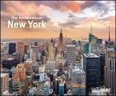 Über den Dächern von New York 2021 - Städte-Reise-Kalender - Querformat 58,4 x 48,5 cm - Spiralbindung