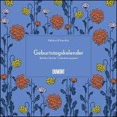 Immerwährender Geburtstagskalender - Lovely Flowers - Haferkorn & Sauerbrey - Quadrat-Format 24 x 24 cm