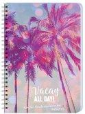 Palmen Schüler-/Studentenkalender A5 Kalender 2021