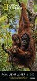 National Geographic Familienplaner Kalender 2021
