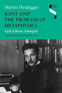 Kant and the Problem of Metaphysics, Fifth Edition, Enlarged (eBook, ePUB) - Heidegger, Martin