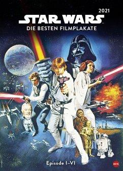 Star Wars Filmplakate Edition Kalender 2021